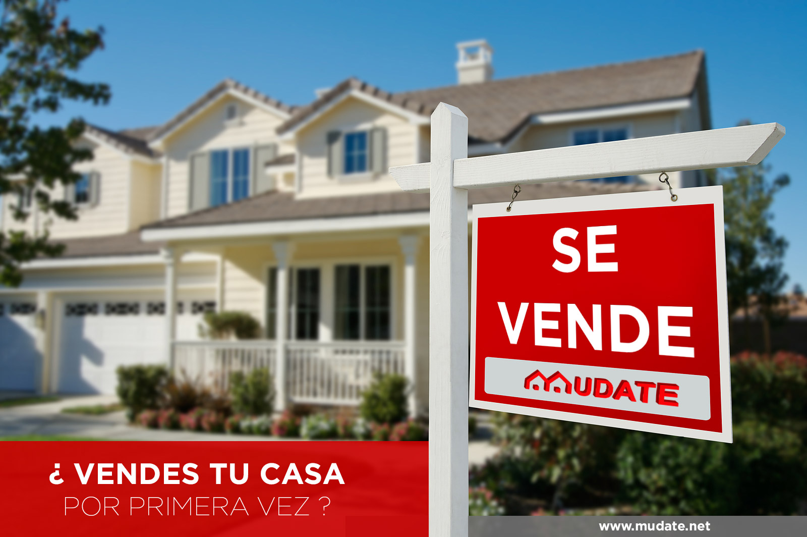 ¿Vendes tu casa por primera vez?